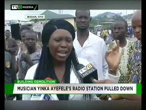 Yinka Ayefele's Radio station pulled down