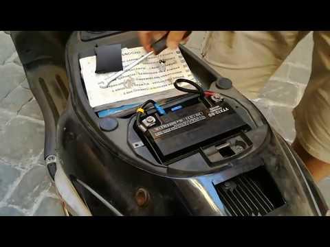 Sostituire raddrizzatore di corrente  scooter PIAGGIO LIBERTY 200. GRATIS PRATICO VELOCE