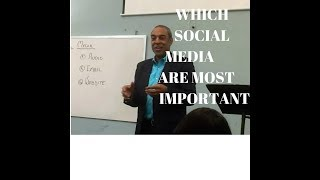 WHICH SOCIAL PLATFORM IS MOST IMPORTANT?
