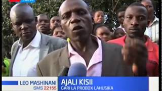 How the Kisii road accident that claimed lives of seven people happened