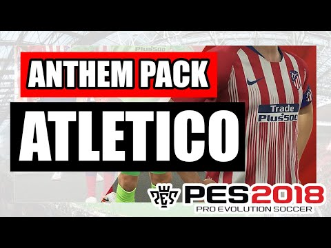 PES 2019 Atletico Madrid New Entrance Theme (OBH Entrance Theme Pack)