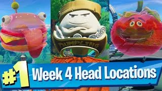 Dance Inside A Holographic Tomato Head, Durrr Burger and Giant Dumpling (Locations)Week 4 Challenges