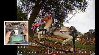 Old FPV video 9/4 Tinyhawk 2 testing out the new transmitter before switching to pinching