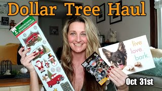 Dollar Tree Haul | All New Items | Gift Ideas- Oct 31st