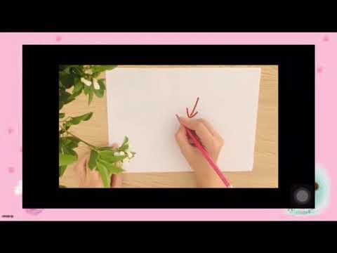 Video hướng dẫn trẻ 5-6 tuổi tư thế ngồi học ngay ngắn và kỹ năng cầm bút tô