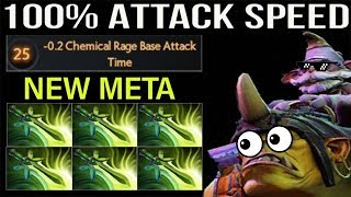 6x BUTTERFLY ALCHIMEST DAT ATTACK SPEED | DOTA 2 CRAZY NEW META GAMEPLAY