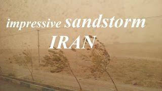 Iran/Sanandaj to Tehran (Amazing sandstorm) Part 103