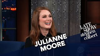 Julianne Moore Got Spicy With Matt Damon And A Ping Pong Paddle