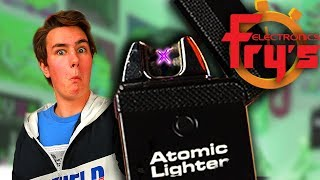 Atomic Lighter - Fry's 5 Minute Speed Shopping