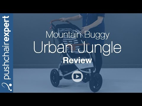 Mountain Buggy Urban Jungle Luxury Collection Up Close Review