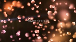 bokeh background video effects | bokeh animation background loops | light leak particle effects