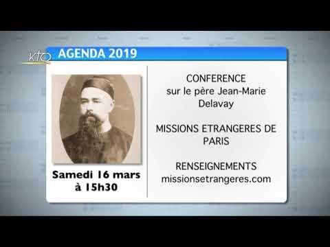 Agenda du 8 mars 2019