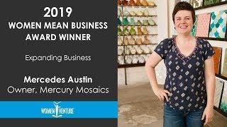 WomenVenture - Mercedes Austin - Expanding Business Award Winner