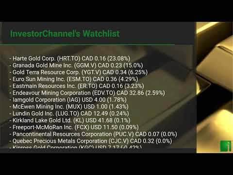 InvestorChannel's Gold Watchlist Update for Friday, July 0 ... Thumbnail