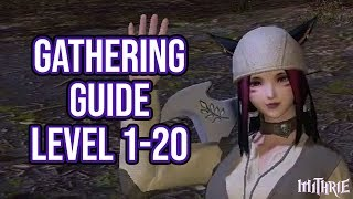 FFXIV 2 55 0583 New Player Crafting Guide Level 5 to 10 - Самые