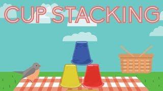 Cup Stacking - Keyboarding   Kindergarten Skill Games