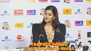 Taapsee Pannu At Mirchi Award (Video)