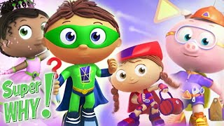 Super WHY! Full Episodes English ✳️ Compilation ✳️ S01E01-03 ✳️ Cartoons For Kids (HD)