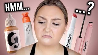 I TRIED $200 WORTH OF GLOSSIER MAKEUP.. WORTH THE HYPE?
