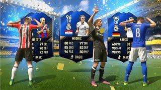 FIFA 17 - OMG TOTY MODRIĆ & INIESTA PACK OPENING!!!⛔️🔥- MY BEST WALKOUT💯