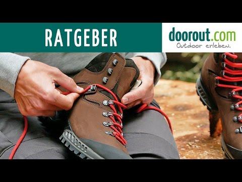 Wanderschuhe richtig schnüren - Die 4 besten Schnürtechniken