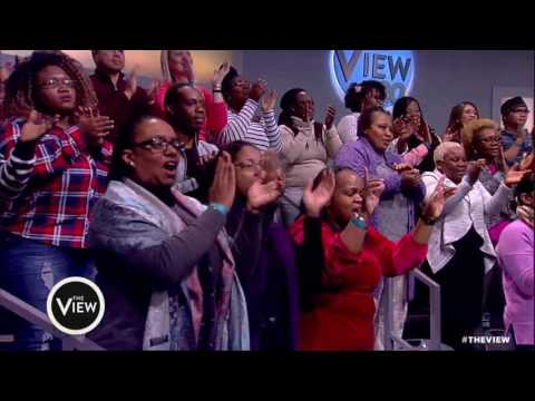 'View' Co-Hosts Walk Out To Stevie Wonder's 'Happy Birthday' | The View