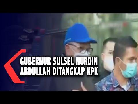 Gubernur Sulsel Nurdin Abdullah Ditangkap KPK