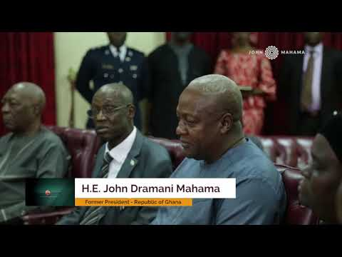 Sierra Leone elections: Mahama pays courtesy call on President Ernest Koroma