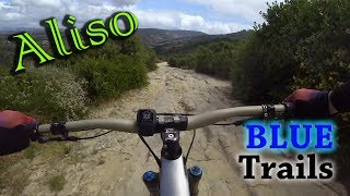 All of the intermediate trails at Aliso