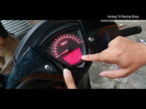 Chia sẻ cách sử dụng đồng hồ Koso chính hãng cho xe Sh Ý