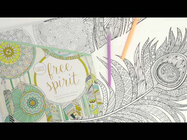 Relaxing & Rejuvenating Adult Coloring Books