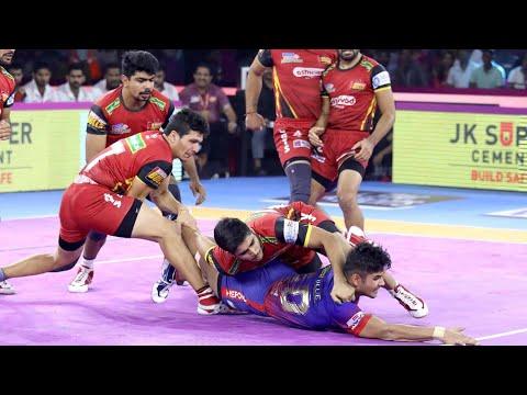 Pro Kabaddi 2019 Highlights |Dabang Delhi Vs Bengaluru Bulls | M105