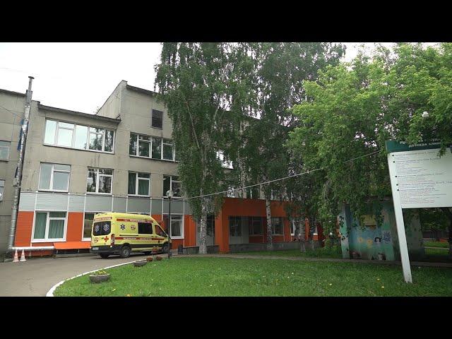 В детской областной больнице работает приёмно-сортировочное отделение