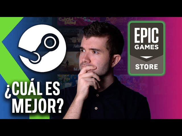 STEAM vs EPIC GAMES STORE: Así está el mercado de VIDEOJUEGOS DIGITALES