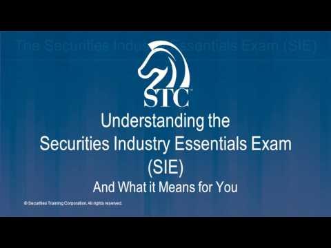 Understanding the Securities Industry Essentials Exam - YouTube
