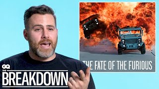Car Expert Breaks Down Car Scenes from Movies | GQ