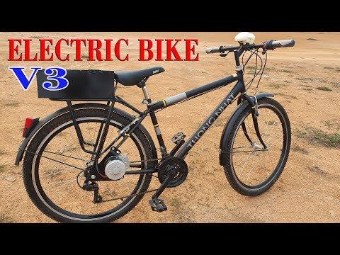 Build a Electric Bike Using DIY KIT 250W Reducer Motor - V3