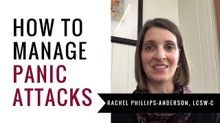 How to Manage Panic Attacks