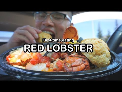 Download First time eating RED LOBSTER MUKBANG Mp4 HD Video and MP3