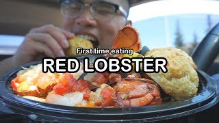 First time eating RED LOBSTER MUKBANG - Video Youtube