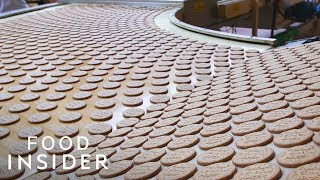 How McVitie's Chocolate Digestive Biscuits Are Made