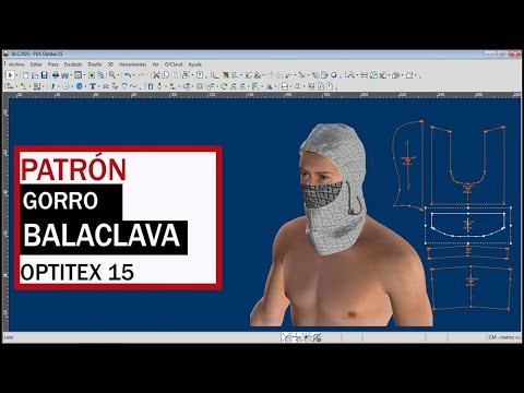Download 💪 COMO HACER BALACLAVA 👉 OPTITEX , aprende a hacer el gorro Balaklava de forma fácil Mp4 HD Video and MP3