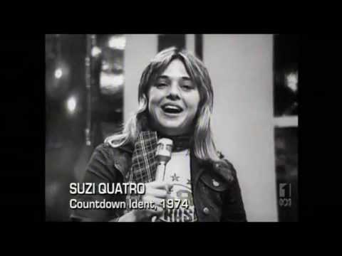 Suzi Quatro - Daytona Demon B/W -