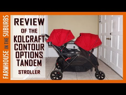 Kolcraft Contour Options Tandem Stroller Review!