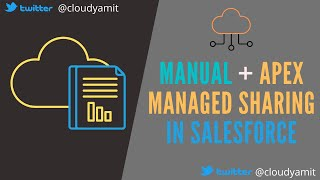 Manual & Apex Managed Sharing in Salesforce