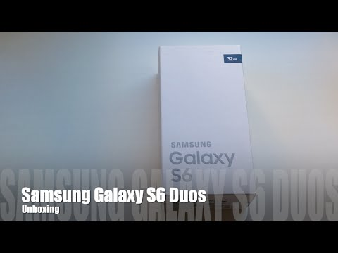 Samsung Galaxy S6 Duos Unboxing