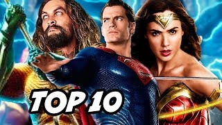 Aquaman TOP 10 WTF Questions - Justice League, Wonder Woman and Post Credit Scene