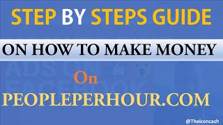 EARN  $5000 PER MONTH ON PEOPLEPERHOUR COM WITH EASE