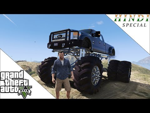 GTA 5 BIGGEST OFFROAD TRUCK HINDI