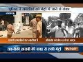 Police lathicharge protesting SP workers in Lucknow